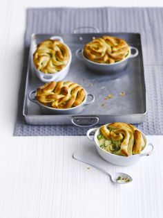 Savory Tart, Savoury Pies, Vegetarian Pie, Risotto Dishes, Leek Pie, Cheddar Potatoes, Vegetable Pie, Recipe Cover, Pie Tops