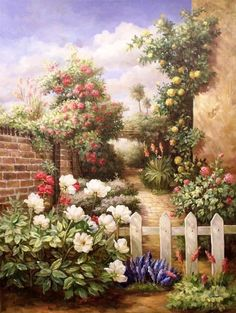 Flowers are the sweetest things God ever made, and forgot to put a soul into. @ http://www.oilpaintingsstore.com/la-0062.html# #Pinterest Pin-a-way