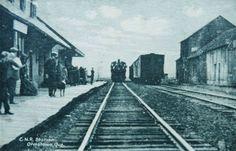 ORMSTOWN, Québec - CNR railway station-gare - old