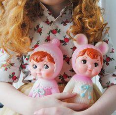 Popje woodland Lapin & me licht roze | Knuffels en popjes | HippeKidsKamer