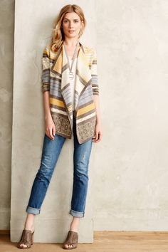 This sweater is so cute! #Anthropologie