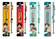 Haikyū !! Fashion Misanga will be released all four in September 2015 #hq_anime #haikyuu
