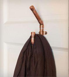 Industrial Copper J Hook: diy?