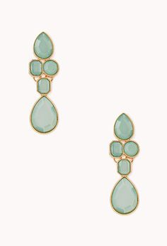 $4.80 Opulent Faux Stone Drop Earrings | FOREVER21 - 1000107025