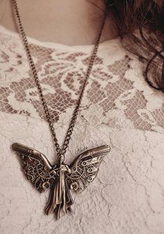Clockwork angel necklace. I WANT IT. TAKE MY MONEY.