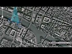 Race around google maps of France with your interactive mini. (2011)