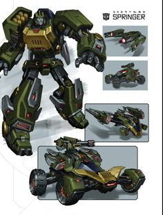 Art of Fall of Cybertron, Springer