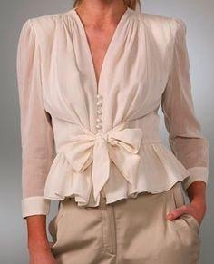 romantic blouse - Google Search