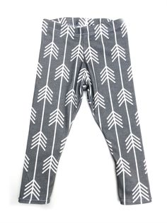Fall 2014 Collection: White Arrows Leggings for your baby or toddler from www.brikhouse.com
