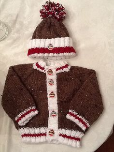 Ravelry: Project Gallery for Little Coffee Bean Cardigan pattern by Elizabeth Smith