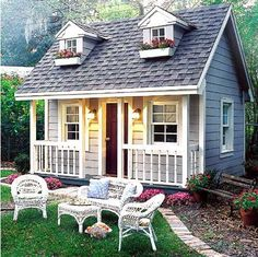 Play House Design - Bing Images So Cute, My Girls Would Love This!!!