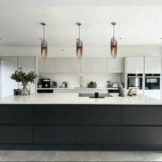 Wood Pendant Light, Modern Pendant Light, Modern Chandelier, Modern Lighting, Wood Chandelier, Modern Kitchen Island, Modern Kitchen Design, Kitchen Islands, Scandinavian Kitchen Island Lighting