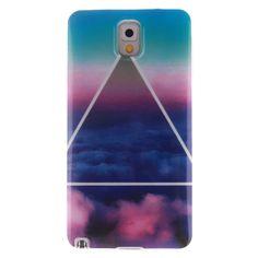 ANGELLA-M Case For Samsung Galaxy Note 3 N9000   N9005 Beautiful Sky  Flexible Silicone c6c4e6339a7