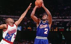 Mitch 'Rock' Richmond.    One of the sweetest shooters in the game's history. Textbook form.