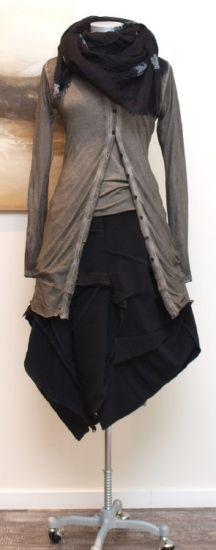 stilecht ~~ mode für frauen mit format... - rundholz black label - Shirt earth - Winter 2013