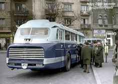 Az ötvenes években kísérleti üzemben közlekedtek Ikarus 66-osok a Faü flottájában. Itt nem terjedtek el. Classic Motors, Classic Cars, Ddr Museum, Commercial Vehicle, Budapest Hungary, Public Transport, Old Cars, Motor Car, Cars And Motorcycles