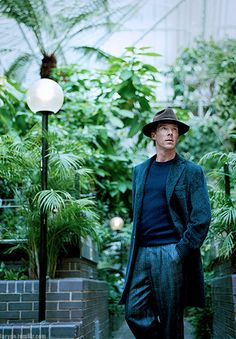 Trousers are too baggy, hat is too floppy. .. Mr. Cumberbatch is just right