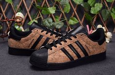 low priced cfe01 390ec hombres mujer Adidas Originals SUPERSTAR 80s Corriendo Zapatos Wood Grain  36-44 F83388