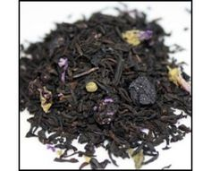 Amazing Black tea with dried Blueberries! Hot or iced