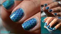 Rapture #Ethereal Lacquer # Moyou stamping plate # pro collection