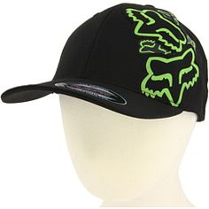 Fox Racing Hat ( green and black, FAVORITE)
