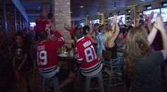 This man's reaction to Blackhawks win is the best we've heard | WGN-TV