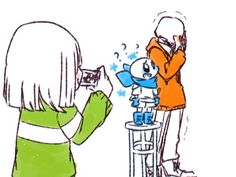 undertale underswap  not a huge fan of this, but it's pretty cute to see Sans be so cheery and full of energy for once.