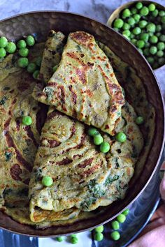 Green Peas Crepes/Do