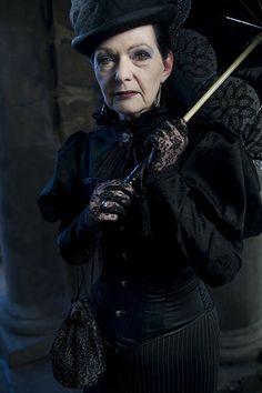 Beautiful Elder Goth