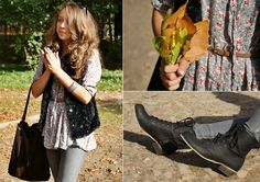 floral shirt (by Gabriela Grębska) http://lookbook.nu/look/2471789-Rollin-with-you