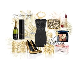 """""""New Year Party"""" by lilaen on Polyvore"""