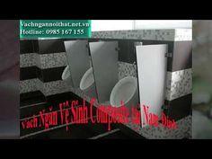 Vách ngăn vệ sinh Composite Lắp đặt tại Nam Định