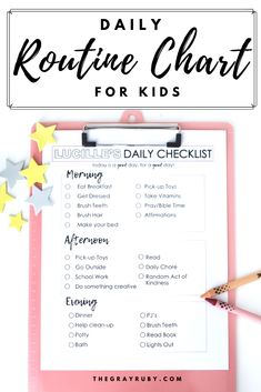 Here is the homeschool routine that we use to help our days run smooth. This homeschool schedule is good for all ages and all learners. Daily Routine Chart For Kids, Charts For Kids, Parenting Quotes, Parenting Hacks, Daily Checklist, Kids Checklist, Educational Activities For Kids, Fun Learning, Kids Schedule