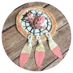 TRIBAL BABY SHOWER CAKE TOPPER Indian Feathers and ARROW Nursery Baby shower cake topper