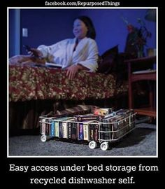 Just what I need for all my VHS tapes.