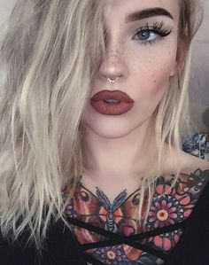 Faux freckles had a major moment in 2016 and the trend is going to continue well into 2017! Paired with some lash extensions and a bold matte lip, you're ready for anything