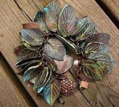 Faux Metal Polymer Clay Jewelry by Adriana Allen ~ The Beading Gem's Journal