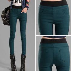 21c673121e424 Velvet Thickened Leggings FREE Shipping #Fashion Pantalon Velours, Pantalon  Chaud, Automne Hiver,