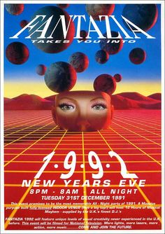 90s rave posters - Google Search