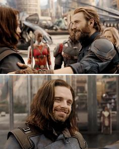 He looks so happy MARVEL DONT YOU DARE TAKE THIS AWAY FROM ME