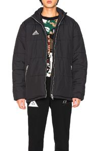 Gosha Rubchinskiy Gosha Rubchinskiy X Adidas Padded Jacket In Black Gosharubchinskiy Cloth Jackets Padded Jacket Outerwear Jackets