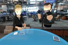 Today on stage at Oculus' Connect conference, Mark Zuckerberg demonstrated a new social VR experience that overlays VR avatars of friends who are elsewhere on..