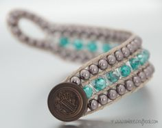 How to Make a Thick Wrap Bracelet Video Tutorial