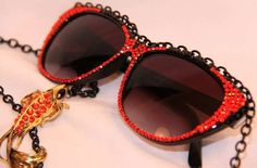 The CheyenneKimora Eyewear Collection Boasts Extreme Bling #fashion trendhunter.com