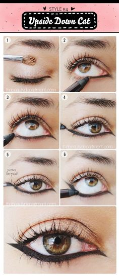 7 Types of Unique Eyeliner Looks | Fashion Find Blog or Fun with eyeliner