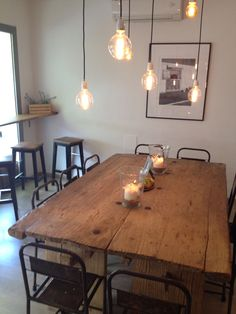 Ziva Palma. Love the table and lights
