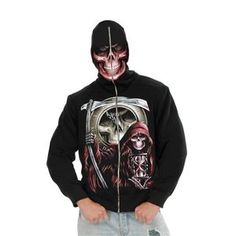 Grim Reaper Adult Me Grim Reaper Adult Mens Hoodie