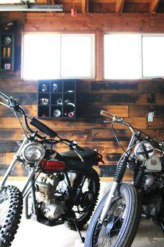 The reclaimed wood wall has been popular for a while now, and I've been wanting to get the look in my garage. I love the earthy hues and honest…
