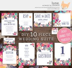- - - - /// . A B O U T . /// - - - - -    Looking for a cheap and cheerful way to plan your wedding? Download our premade PDF invitation