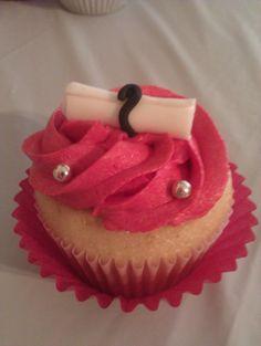 Lamar University Graduation Cupcakes